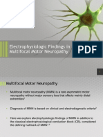Electrophysiologic Findings in MMN PNE