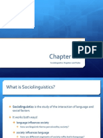 sociolinguistics  registers styles