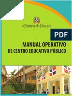 Manual Operativo para los Centros Educativos sujetos al MINERD.pdf