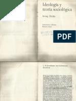 Zeitlin Ideología y teoría sociológica Selección.pdf