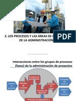 Administración de Proyectos3.1 Procesos
