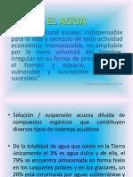 1. EL AGUA