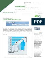 Usos de Twitter en La Educación _ Blog Del Proyecto de Multimodalidad Educativa