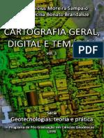 Cartografia Geral Digital e Tematica