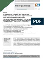 Actualizacion Del Manejo de Helicobacter Pylori 2018
