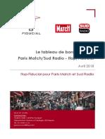 Tableau de Bord Politique Ifop-Fiducial pour Sud Radio et Paris Match - Avril 2018