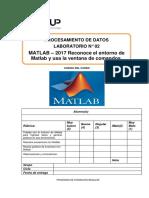 Lab 02 - Matlab 2017 - Reconoce el entorno de Matlab y usa ventana de comandos.docx