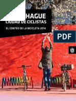 Copenhagens Biycle Account 2014 Español