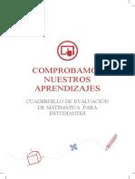 Cuadernillo MATEMÁTICA Estudiante