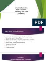 Semantic Review