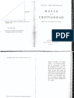 Meinvielle. Hacia La Cristiandad