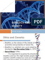Genetics and Human Dignity