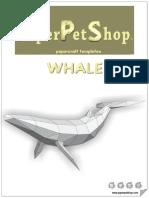 Wale papercraft