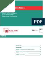 Estudio de Caracterización - Red de salas de teatro, Chile