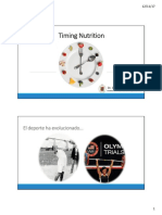 Timing Nutrition