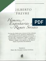 Gilberto Freyre - Homens, Engenharias e Rumos Sociais
