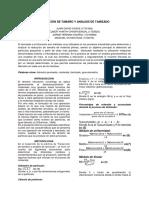 Informe #1 Reduccion de Tamaño y Tamizado