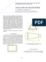 7structural Analysis of Crane Hook PDF