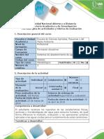 Guía de actividades y rúbrica de evaluación - Segunda etapa - Condiciones del agua para consumo humano.docx