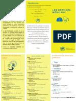 Brochures services médicaux