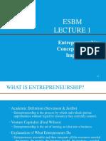 Foundations of Entrepreneurship (1)