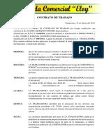 Contrato de Trabajo 2018 (2)