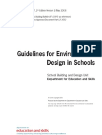 BB87 Guidelines Gor Environmental Design in Schools