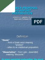 02 Proposal Report Preparation 2ndSem