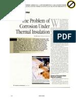 Corrosion en Aislaciones Termicas
