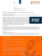 Projectmanager Orange Corners Angola