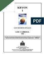 KRYON 1 - Los Tiempos Finales.pdf