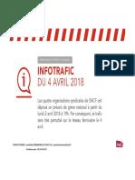 CP Info Trafic Nouvelle-Aquitaine (3!04!18)