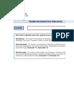 Prueba de Diagnostico Excel