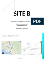 SITE B bagan lalang site analysis