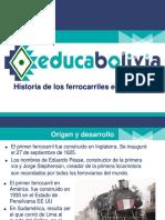 INTRODUCCION Historia de Los Ferrocarriles en Bolivia