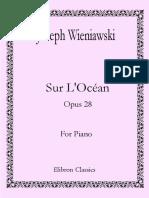 Sur L'Ocean (Wieniawski)