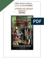 Leyenda Del Bosque Encantado 2015