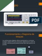 Osciloscopio Digitales Expo