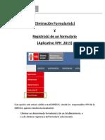 03.Instructivo Eliminacion Formulario y Registros VPH 2015