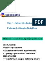 Econometrie Curs 1, 2017,Anul II Management (1)