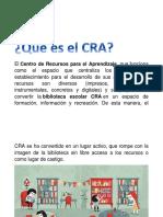 Qué es el CRA