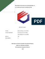 Laporan Praktikum Rangkaian Elektronika II
