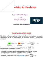 VOLUMETRIA ÁCIDO BASE