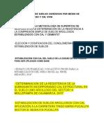 Estabilización de Suelos Cohesivos Por Medio de Arenas volcánicas y Cal Viva