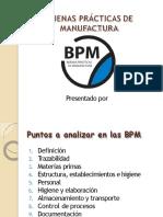 Capacitacion de Bpm