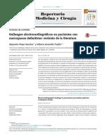 Hallazgos Electrocardiogr Ficos en Pacientes Con Marc 2017 Repertorio de Med