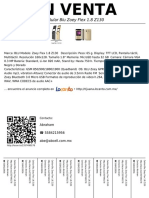 Celular Blu Zoey Flex 1.8 Z130