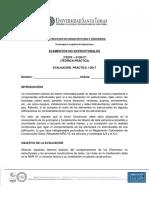 Evaluación Practica Elementos No Estructurales (1- 2017)