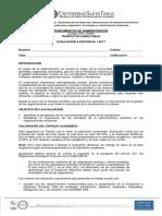 DIS de ESPACIO ACADÉMICO Fundamentos de Administración 1-2017