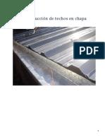 Construcción de Techos en Chapa